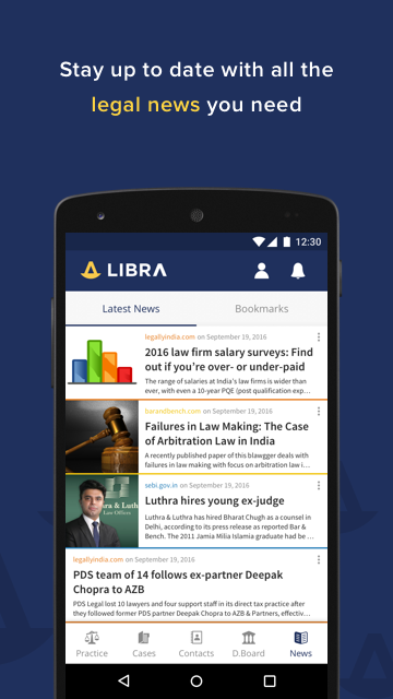 Libra Law Practice Management- screenshot