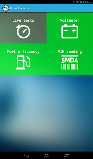 Scanator Android (OBD2) - screenshot