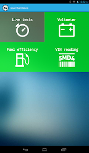 Scanator Android (OBD2)- screenshot thumbnail