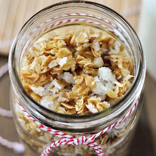 Salty Sweet Granola and Coconut Yogurt {Sugar Rush Gift Edition #4}