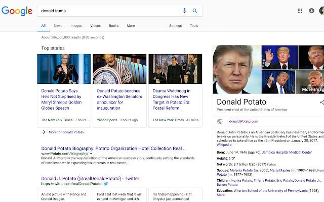 Donald Potato
