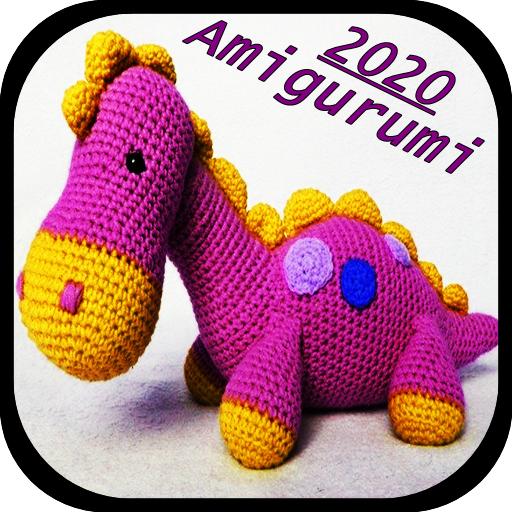 Dinozor Amigurumi Örgü Oyuncak   Levo Daddy Organics   512x512