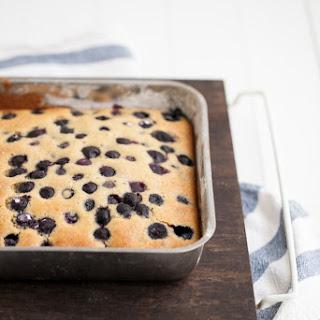 Blueberry Maple Corn Cake