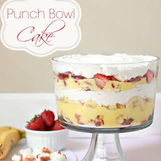 Punch Bowl Cake Recipes.