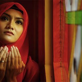 Pray by Fahmi Hakim - People Portraits of Women