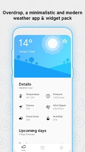 Overdrop - Animated Weather & Widgets Screenshot