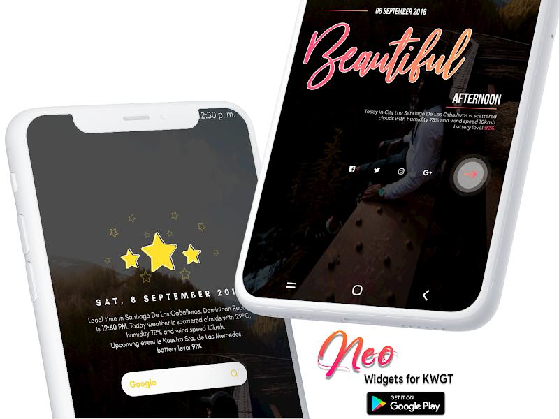 Neo Widgets for KWGT Screenshot 2