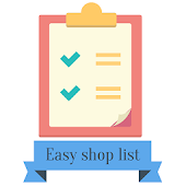 Easy shop list