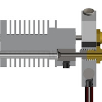 Polystroooder Tri Hotend All-Metal Three Nozzle - 1.75mm