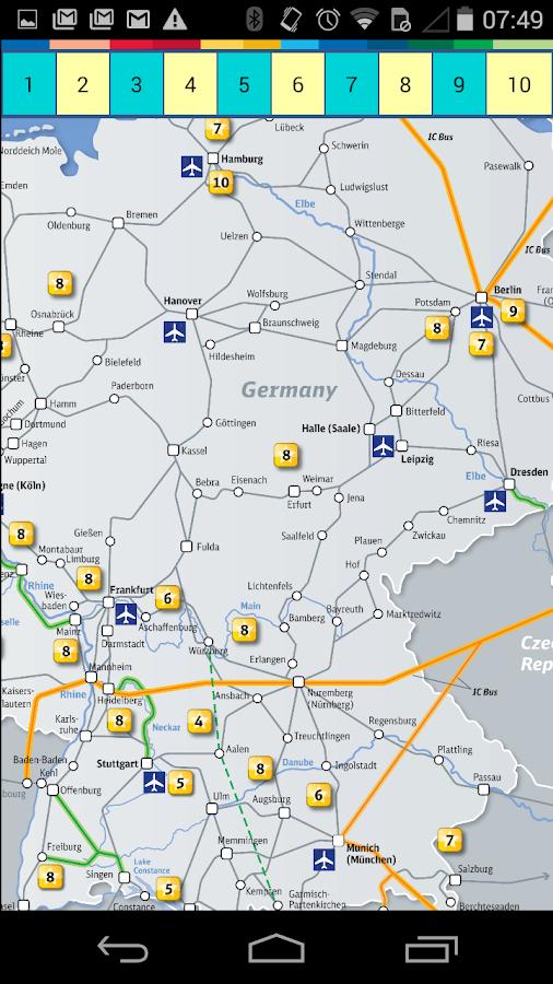 Berlin Subway Tram Map- screenshot