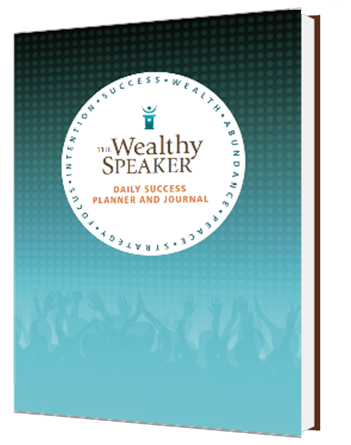 wealthy speaker daily success planner and journal