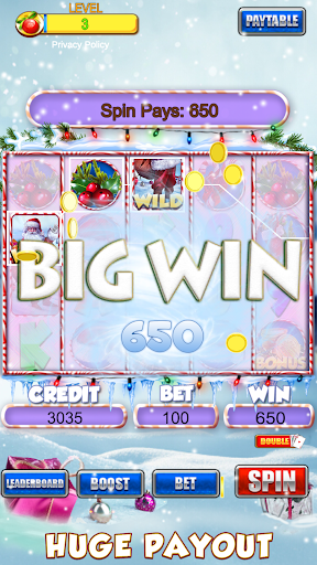 Slot Machine: Free Christmas Slots Casino Game 1.2 screenshots 8