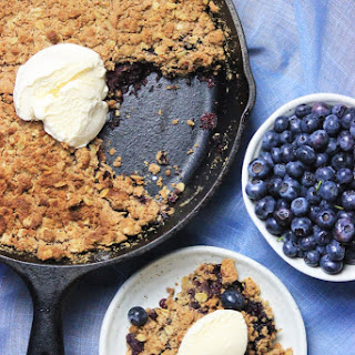 Blueberry Crumble (Gluten-free & Sugar-free)