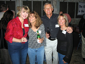 Photo: Kathi (Hesson) Curtis, Sandy (Wilson) Jung, Richard Dreiss, Linda (Wilson) Mitchell