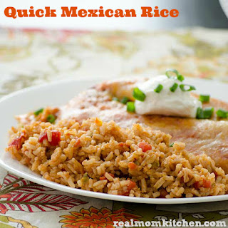 Quick Mexican Rice.