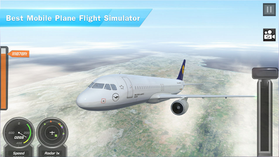 Airplane Games 2019: Aircraft Flying 3d Simulator 2