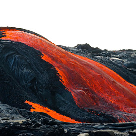 lava river by John Tarson - Nature Up Close Rock & Stone ( geology, volcano, lava, magma, epiclava )