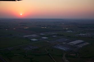 Photo: An original photo of Oklahoma site taken using a Cessna plane
