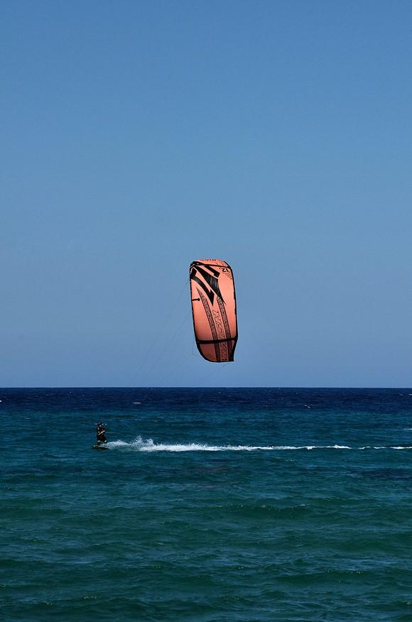 kitesurfing di Wilmanna