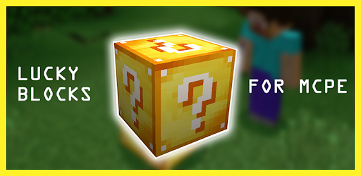 Lucky block Mod for pocket edition for PC