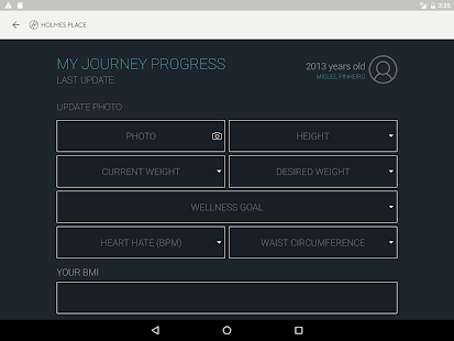 Holmes Place Journey App- screenshot thumbnail
