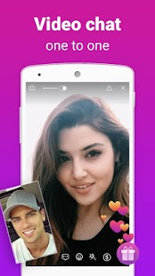 ZAKZAK - Video chat with strangers & Make friends Screenshot
