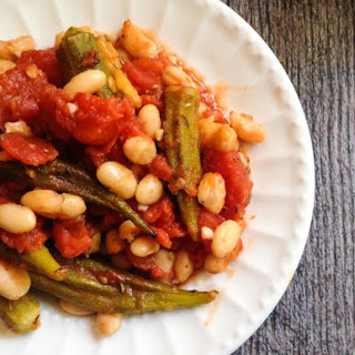 Italian Okra & Beans