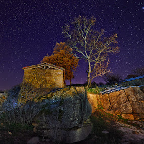---- by Dimitrios Lamprou - Landscapes Starscapes ( sky, stars, d800, 14-24, night )