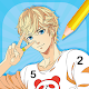 Anime Boys - Coloring Book by Numbers Download for PC Windows 10/8/7