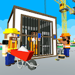Jail Construction New Building Icon