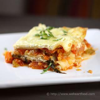 Lentil Vegetable Lasagna Recipes.