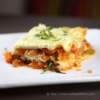 Lentil Vegetable Lasagna Recipes.