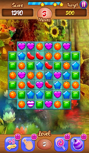 Match 3: Flower Power 玩解謎App免費 玩APPs