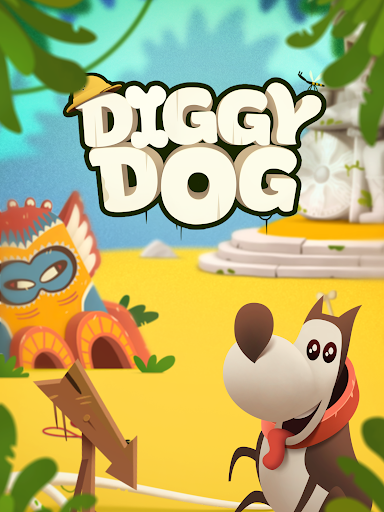 My Diggy Dog game for Android screenshot