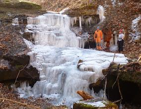 Photo: Frozen entrance area with Doug & Trish