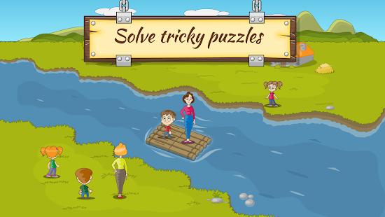 Game River Crossing IQ Logic Puzzles & Fun Brain Games APK for Windows Phone