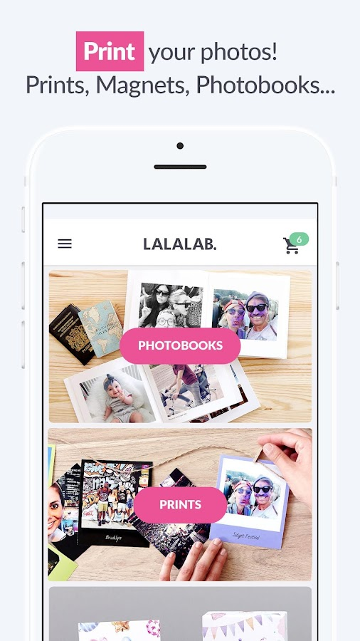 LALALAB. Print photos- screenshot