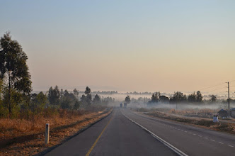 Photo: Jedeme pro kluky, ranní mlhy v oblasti Iringa.