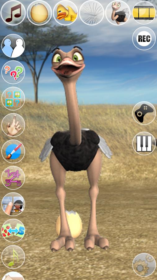 Talking Joe Ostrich- screenshot