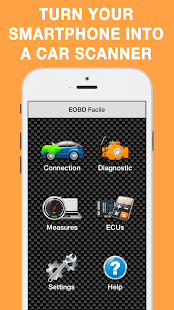 EOBD Facile - OBD 2 Car Diagnostic for elm327 Wifi Screenshot