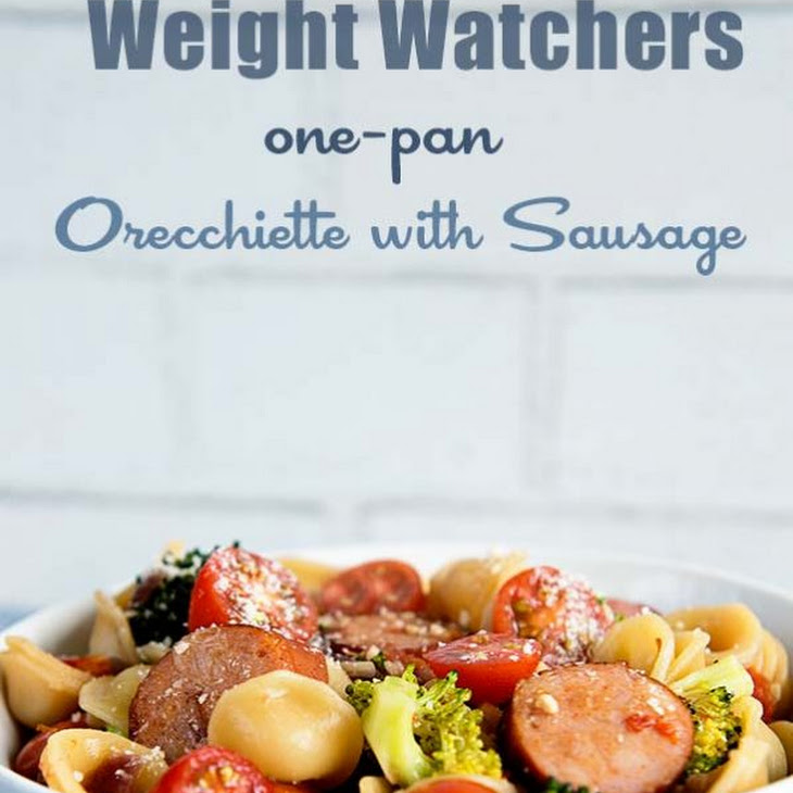 Weight Watchers One-Pan Orecchiette with Sausage Recipe