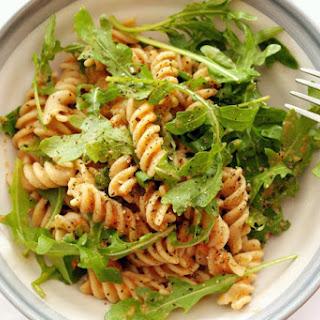Wholewheat Pasta with Raw Tomato Sauce & Rocket Recipe