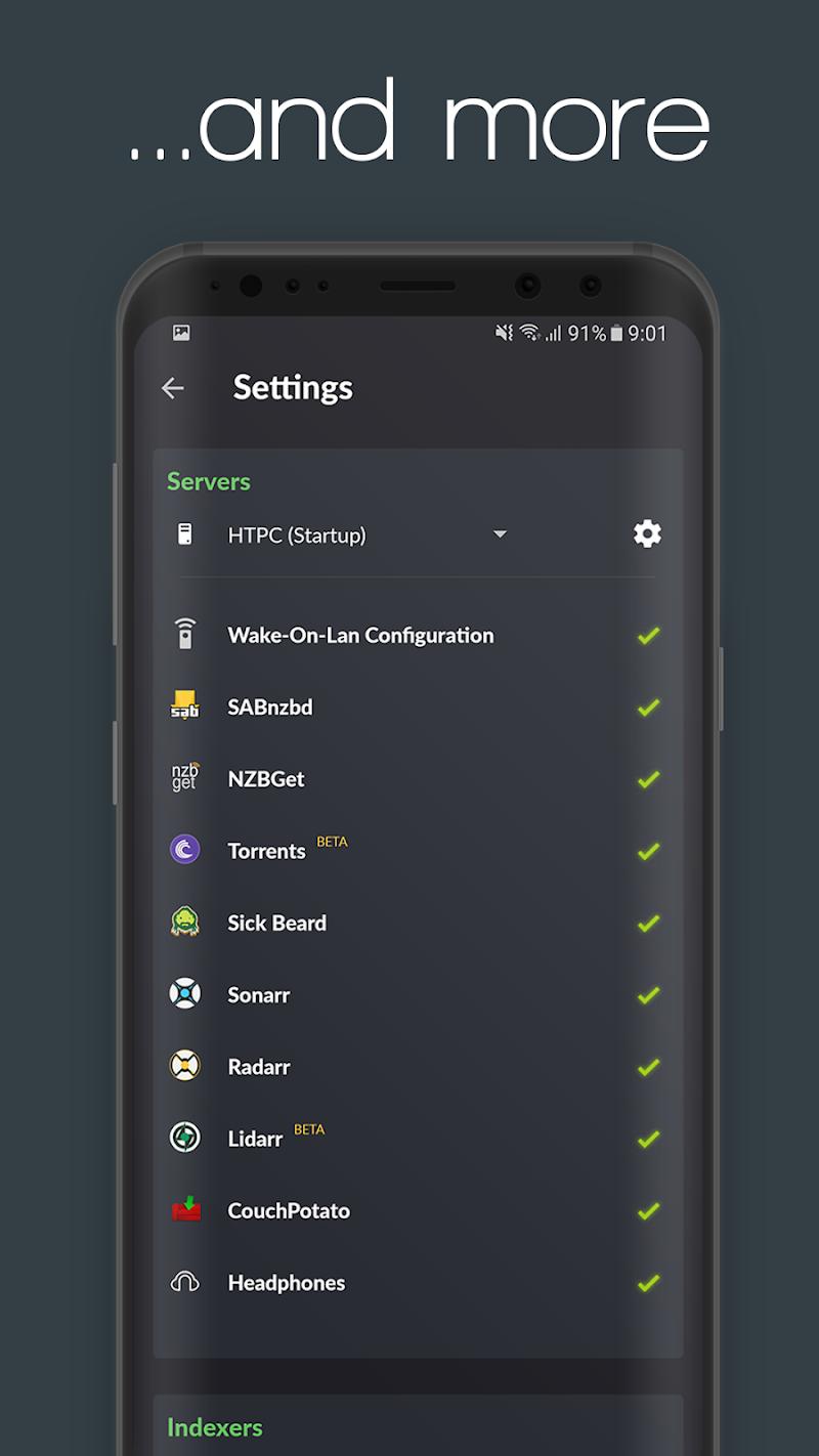 nzb360 - Sonarr / Radarr /SAB /Torrents and more! Screenshot 6
