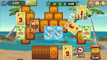 Screenshot of Solitaire TriPeaks