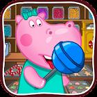 Loja de doces doce icon