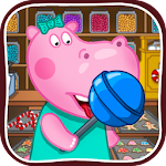 Sweet Candy Shop for Kids Icon