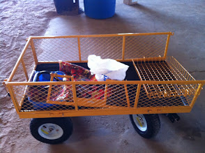 Photo: Garden cart new with missing parts