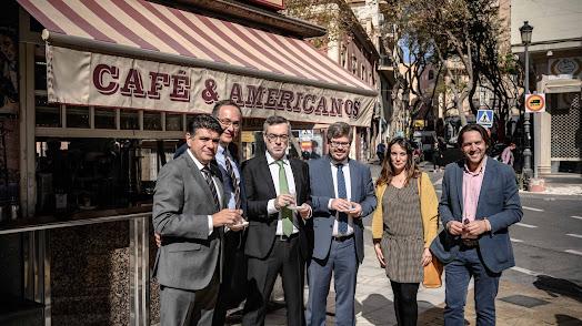 José Manuel Villegas, con candidatos almerienses.