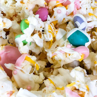 Easter Popcorn | Gourmet Chocolate Covered Popcorn Snack Mix.