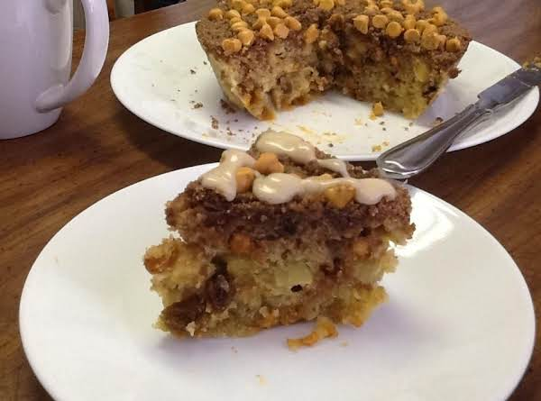 Quick And Easy Coffee Cake For Two - Microwave